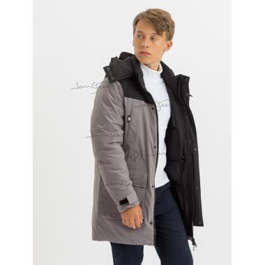 Зимняя куртка для мальчика JAN STEEN (серый), 11 - 15 лет