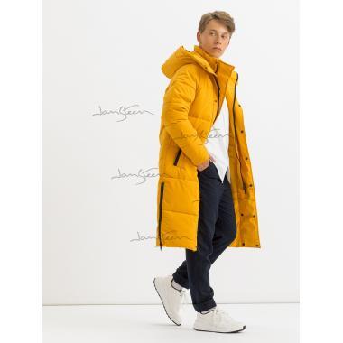 Зимнее пальто для мальчика JAN STEEN (желтый), 11 - 14 лет