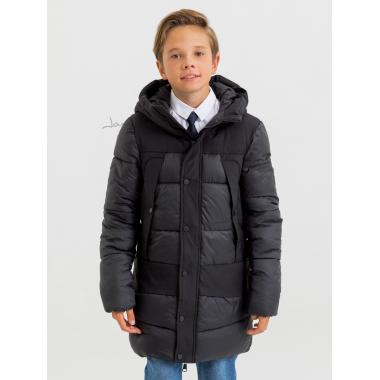 Зимняя куртка для мальчика JAN STEEN (черный), 11 - 14 лет