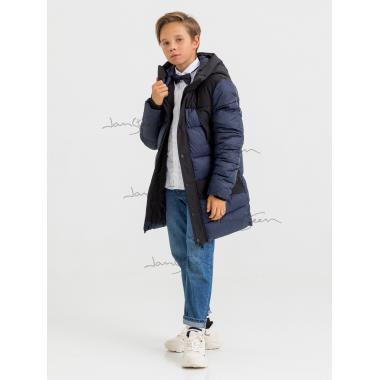 Зимняя куртка для мальчика JAN STEEN (тнмно-синий), 11 - 14 лет
