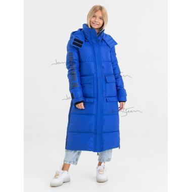 Зимнее пальто для девочки JAN STEEN (синий), 11 - 14 лет