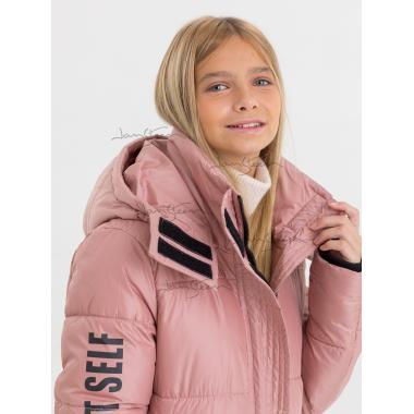 Зимнее пальто для девочки JAN STEEN (розовый), 11 - 14 лет