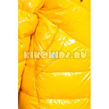 Зимнее пальто KIKO для девочки АЭЛИТА (желтый), 7-10 лет