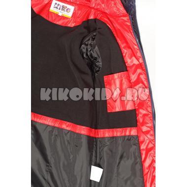 Зимнее пальто KIKO для девочки АЭЛИТА (красный), 7-10 лет