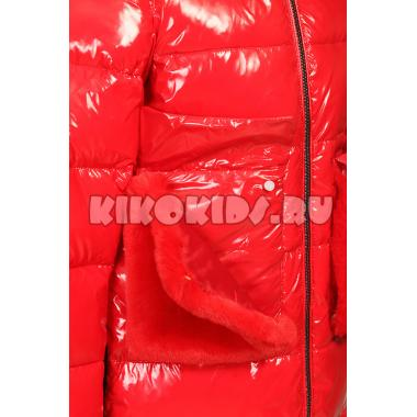 Зимнее пальто KIKO для девочки ЛИЯ (красный), 7-12 лет