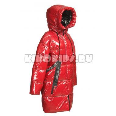 Зимнее пальто KIKO для девочки РИАНА (бордовый), 9-14 лет