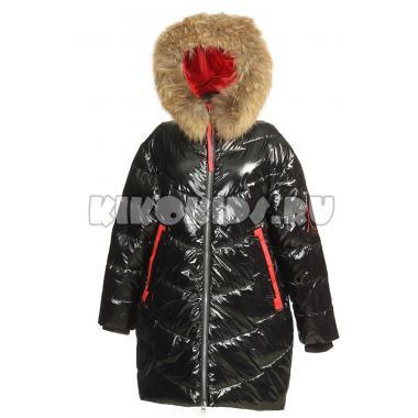 Зимнее пальто KIKO для девочки ПЕЛАГЕЯ (черный), 10-15 лет