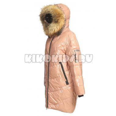 Зимнее пальто KIKO для девочки ПЕЛАГЕЯ (кремовый), 10-15 лет