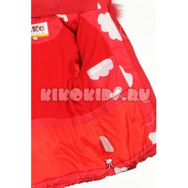Купить Зимний комплект Kiko для девочки ЛИНДА (красный), 3-7 лет