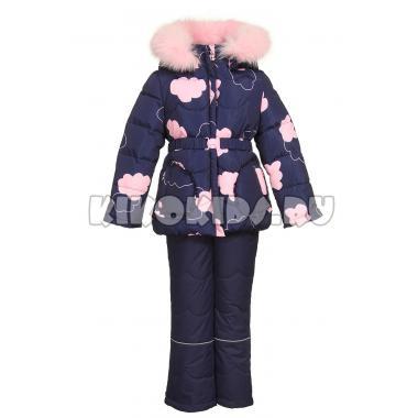 Купить Зимний комплект Kiko для девочки ЛИНДА (синий), 3-7 лет