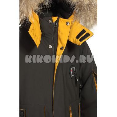 Зимняя куртка KIKO для мальчика ВЛАДИМИР (черный), 7-10 лет