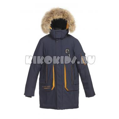 Зимняя куртка KIKO для мальчика ВЛАДИМИР (синий), 7-10 лет