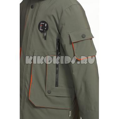 Зимняя куртка KIKO для мальчика ВЛАДИМИР (хаки), 7-10 лет