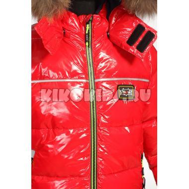 Зимняя куртка KIKO для мальчика ЕВГЕНИЙ (красный), 5-9 лет
