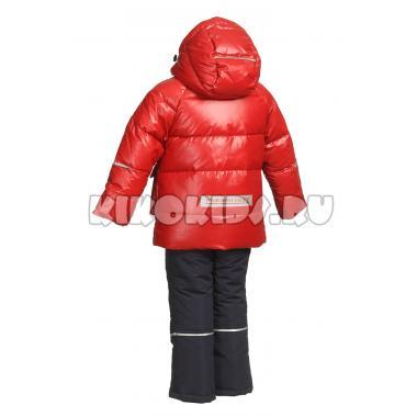 Зимний комплект Kiko для мальчика ДЕНИС (красный), 1,5 - 4 года