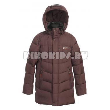 Зимняя куртка KIKO для мальчика ЛУКА (шоколад), 10-15 лет