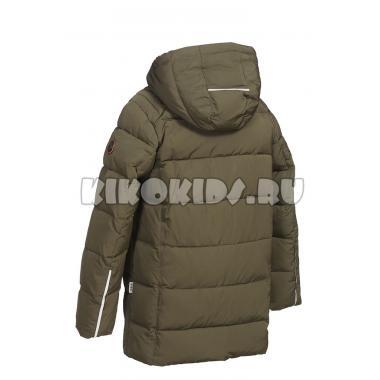 Зимняя куртка KIKO для мальчика ЛУКА (хаки), 10-15 лет
