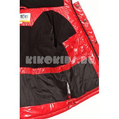 Зимний комплект Kiko для мальчика ДАНИЛ (красный/черный), 1,5 года - 6 лет