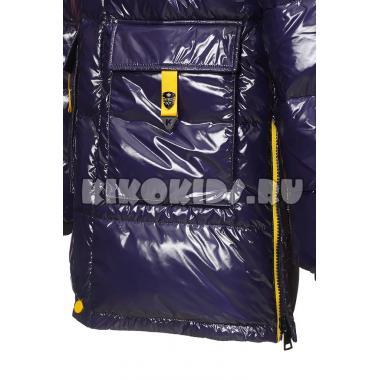 Зимняя куртка KIKO для мальчика ЗАХАР (синий/желтый), 10-15 лет