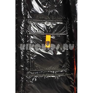 Зимняя куртка KIKO для мальчика ЗАХАР (черный/оранжевый), 10-15 лет