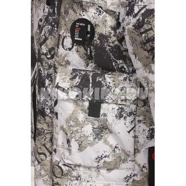 Зимняя куртка KIKO для мальчика ЖЕНЯ (серый), 7-12 лет