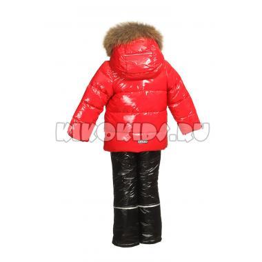 Зимний комплект Kiko для мальчика АРТЕМ (красный/черный), 1 года - 4 лет