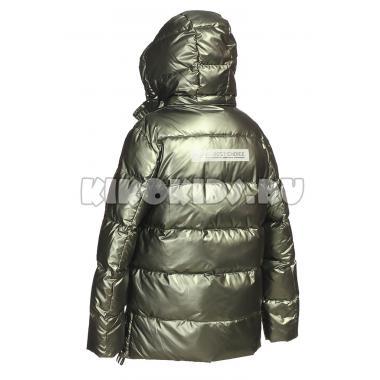 Зимняя куртка KIKO для мальчика МАКСИМ (хаки), 8-11 лет