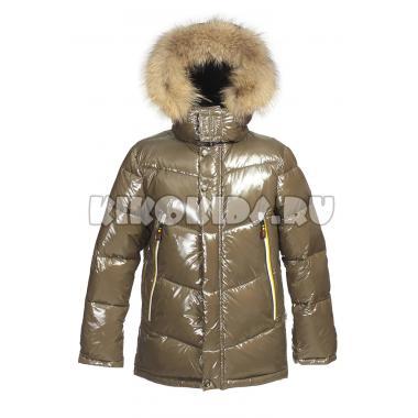 Зимняя куртка KIKO для мальчика ВАДИМ (хаки), 7 - 10 лет