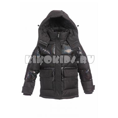 Зимняя куртка для девочки Levin Force (черный), 10 - 14 лет