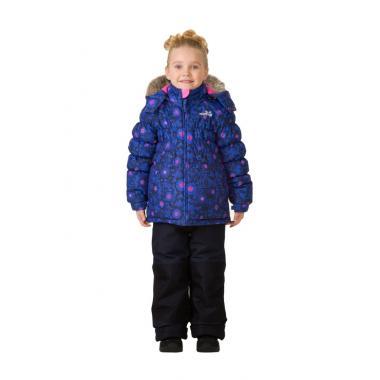 Купить Зимний комплект MONTY для девочки (синий), 1,5 года-14 лет