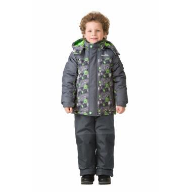 Зимний комплект MONTY для мальчика (серый), 1,5 года-14 лет