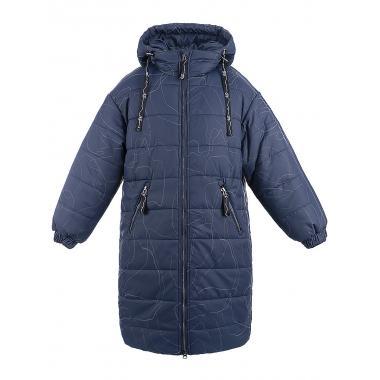 Зимнее пальто для девочки NIKASTYLE (неви), 8-15 лет