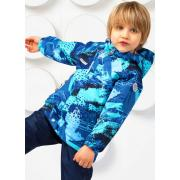 Ветровка SELEO для мальчика EMЕRICK (голубой), 1,5 года - 6 лет