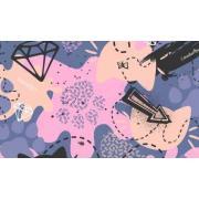 Демисезонный комплект SELEO для девочки DOROTHEE (розовый), 2-7 лет
