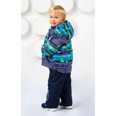 Демисезонный комплект SELEO для мальчика THIERRY (неви/зеленый), 2-10 лет