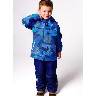 Демисезонный комплект SELEO для мальчика JAYDEN (океан), 2-7 лет