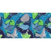 Демисезонный комплект SELEO для мальчика JAYDEN (синий/зеленый), 2-7 лет