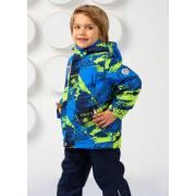 Демисезонный комплект SELEO для мальчика GILBERT (лайм), 2 -7 лет