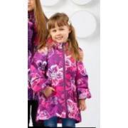Демисезонная куртка SELEO для девочки PATRICIA (розовый), 2-10 лет