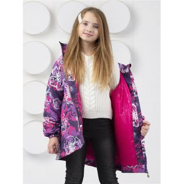Демисезонная куртка SELEO для девочки PATRICIA (фиолетовый), 2-10 лет
