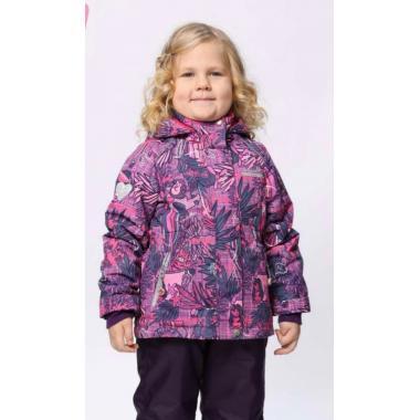 Купить Демисезонный комплект SELEO для девочки (розовый), 2 - 7 лет