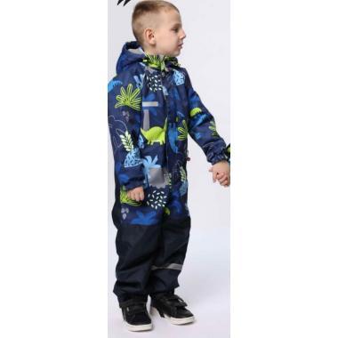 Демисезонный комбинезон SELEO для мальчика (синий), 2-7 лет