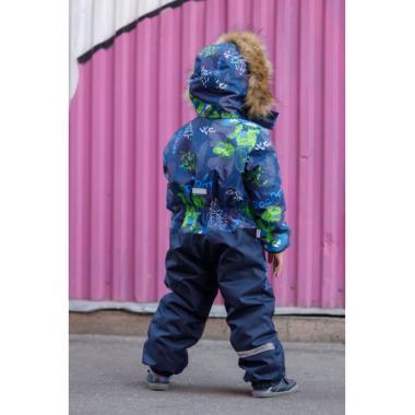 Зимний комбинезон SELEO для мальчика COLIN (зеленовато-синий), 2 - 5 лет