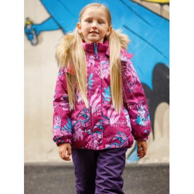 Купить Зимний комплект SELEO для девочки ARIEL (темно-розовый/фиолетовый), 2 - 7 лет