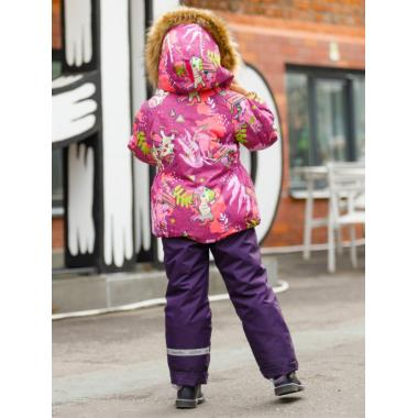 Купить Зимний комплект SELEO для девочки ARIEL (фуксия/фиолетовый), 2 - 7 лет