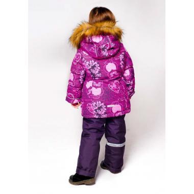Купить Зимний комплект SELEO для девочки ELISSON (малина), 2-7 лет