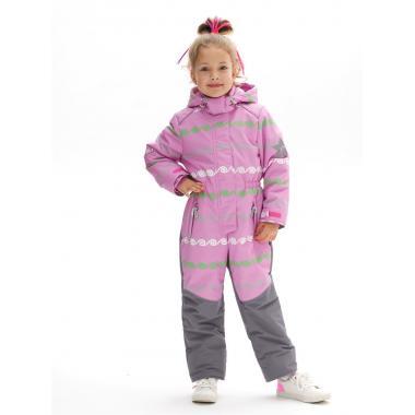 Демисезонный комбинезон STELLA KIDS для девочки GREEK (фиалка), 3-6 лет