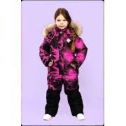 Зимний комбинезон STELLA KIDS для девочки SKY (розовый), 5 - 9 лет