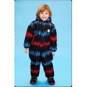 Зимний комбинезон STELLA KIDS для мальчика ENERGY (синий/красный), 1 года - 3 лет