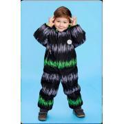 Зимний комбинезон STELLA KIDS для мальчика ENERGY (серый/зеленый), 1 года - 3 лет